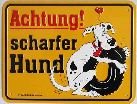 Achtung ... - (Hund, Rottweiler, Listenhunde)