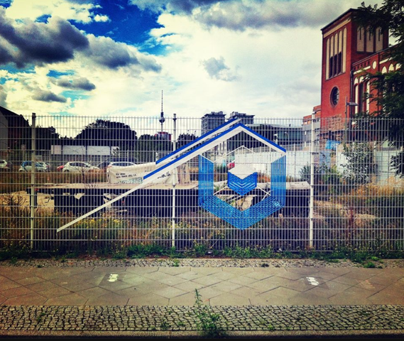 TAPE ART by TAPE OVER // BERLIN MUSIC WEEK // fence2 - (Tape, TAPEART)