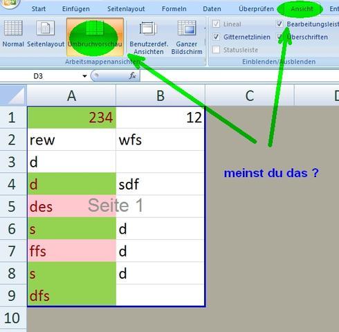 Nicht benutzen Bereich in Excel wie deaktivieren/ausgrauen? (Windows ...