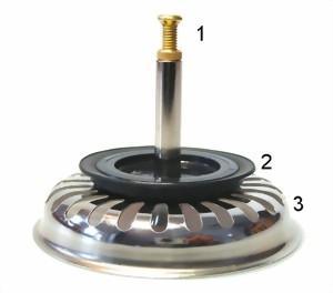 ablauffernbedienung zur bedienung des stöpsel in der küchenspüle ... - Abflussstopfen Küche