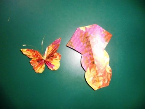 Schmetterling - (lesen, basteln, Tante)