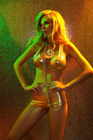Bikini Gold - (Schule, Haare, Farbe)