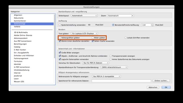 Adobe Reader/Adobe Acrobat Voreinstellungen - (Druck, PDF, Vektoren)