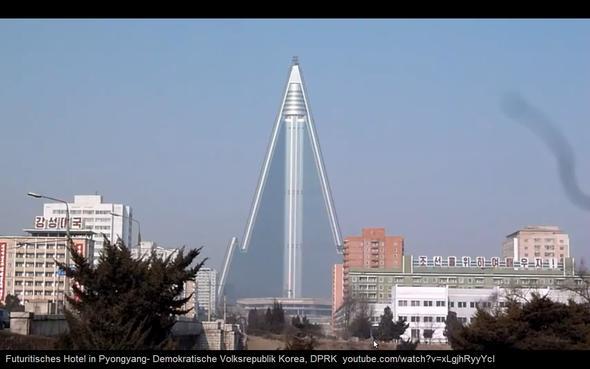 Futuritisches_Hotel_in_Pyongyang_N-Korea-youtube.com_watch_v=xLgjhRyyYcI - (Stadt, Geografie, Erdkunde)
