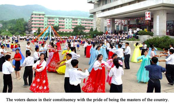 Volksvertreterwahl in Nordkorea - (Stadt, Geografie, Erdkunde)