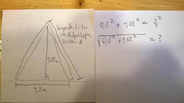 satz des pythagoras als sachaufgabe arbeit mathe. Black Bedroom Furniture Sets. Home Design Ideas