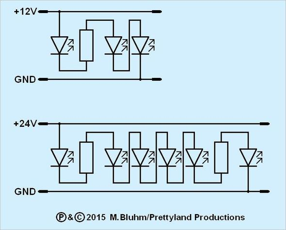 LED-Stripe (Quelle: GF/electrician) - (LED, kürzen)
