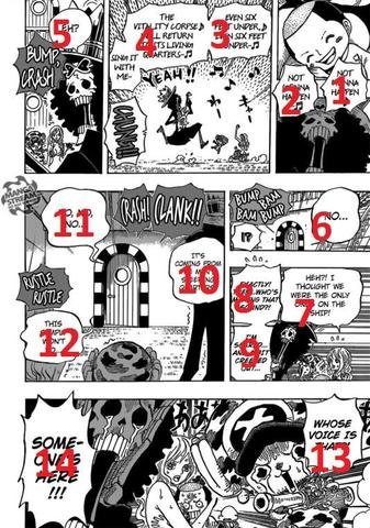 Beispiel Manga Lesen 2 - (Anime, Manga, One Piece)