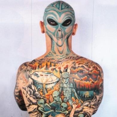 - (Tattoo, tätowieren)
