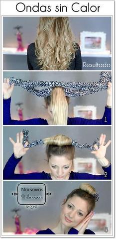 Hallo Wie Bekomme Ich Wunderschöne Locken über Nacht Haare Curls