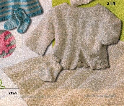 Junghans Babydecke - (Handarbeit, haekeln)