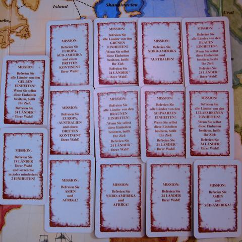 Risiko Missionskarten