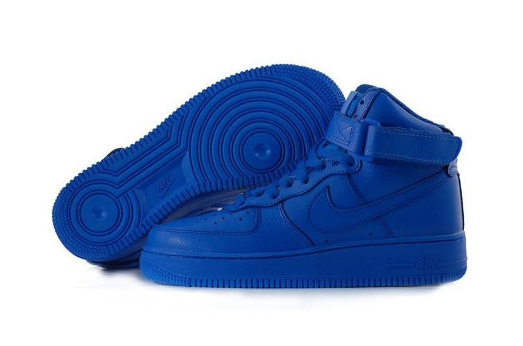 Nike Air Force Damen Blau