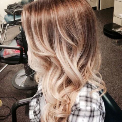 Haare rauswachsen lassen ombre
