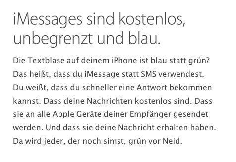 """ich hab mal im Apple Support unter """"Nachrichten"""" geschaut... - (Apple, Kontakt, System)"""