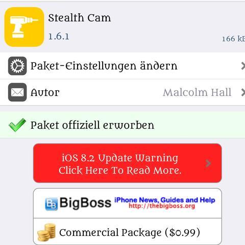Stealth Cam - (Handy, iPhone, Apple)