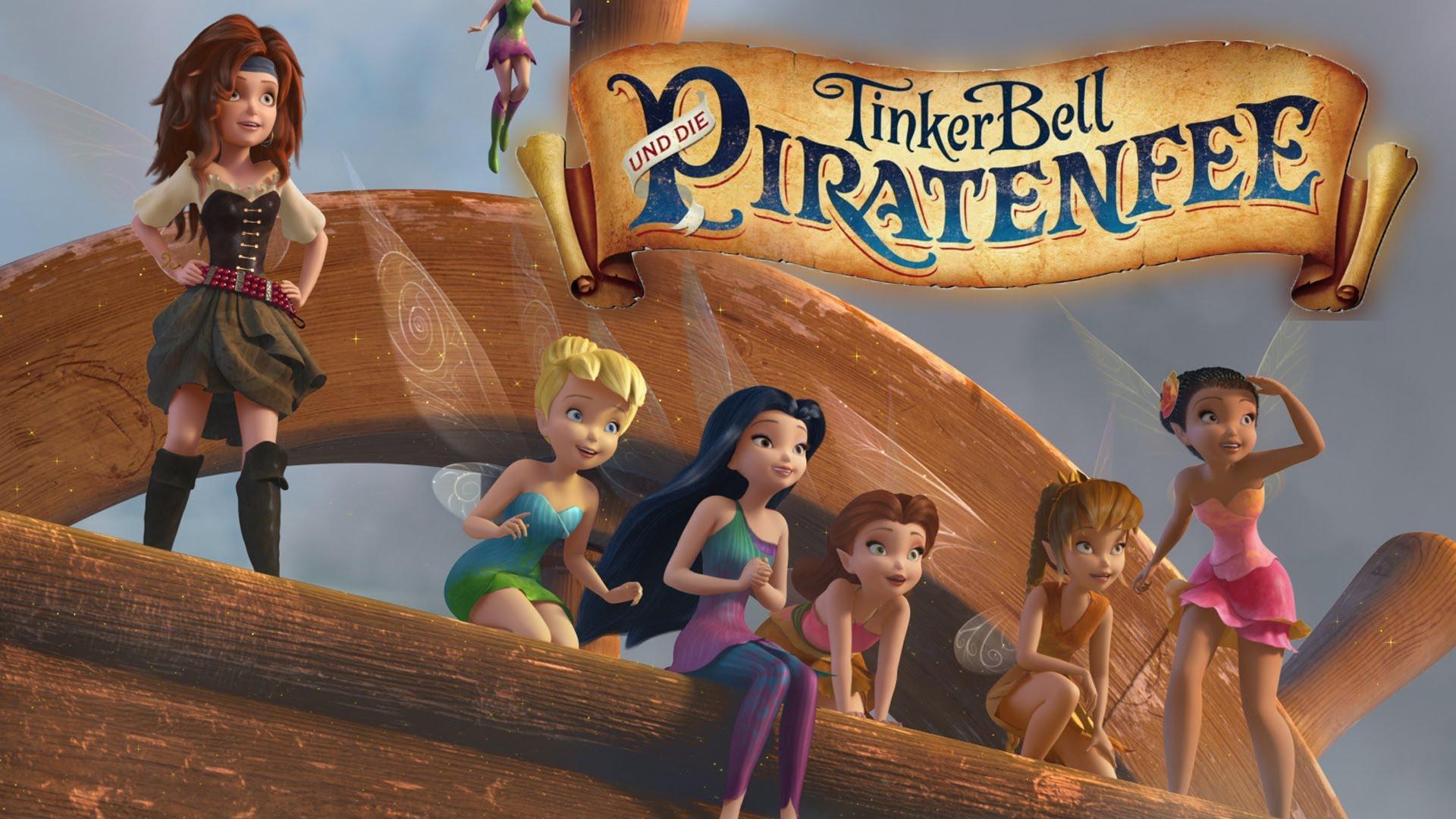 wie viele Tinkerbellfilme gibt es und wie heißen sie? (Film, DVD, Disney)
