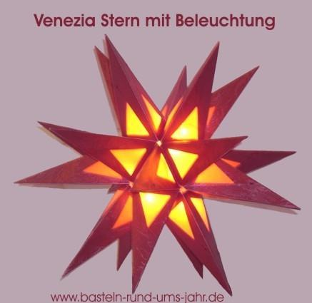 Veneziastern von www.basteln-rund-ums-jahr.de - (basteln, Kreativität, Kartonschachtel)