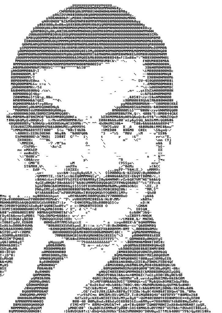 16 ASCII Art ideas   ascii art, ascii, art