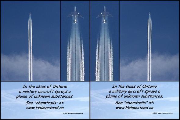 - (Flugzeug, Umwelt, chemtrails)