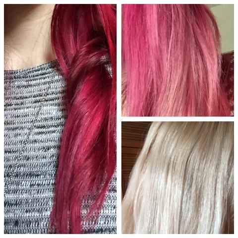 Von Rot Zu Blonden Haaren Haare Färben Schneiden