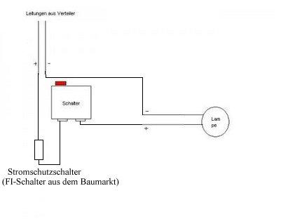 Carport-lichtschaltung - (Technik, Elektrik)