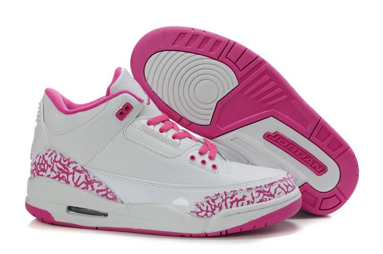 Jordan Weiß Pink