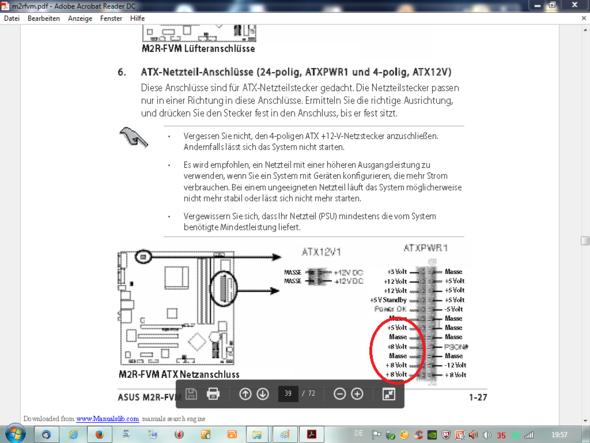 Bild mit Rot - (PC, Netzteil, Stromversorgung)