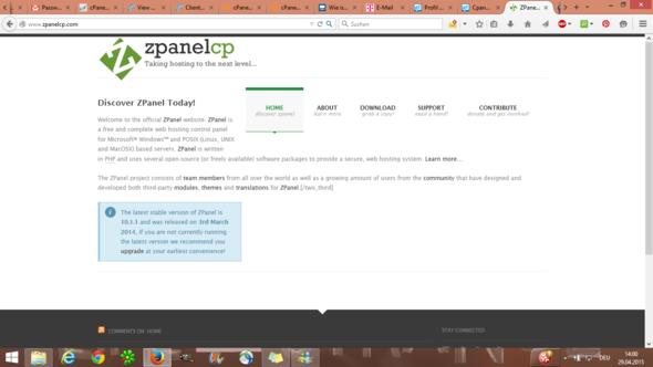 Zpanel - (Server, Open Source, Plesk)