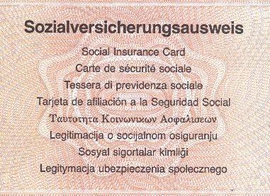 woher bekommt man eine sozialversicherungsnummer