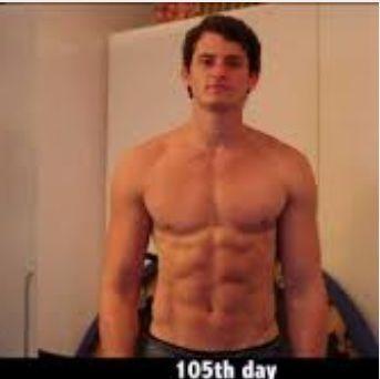 Nach 105 Tagen  - (Fitness, Training, Muskelaufbau)