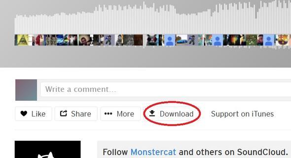 Wie lädt man lieder von SoundCloud Runter? (Musik
