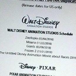 Liste von Disney filmen die in den nächsten jahren in die kinos kommen :) - (Disney, Die Eiskönigin)