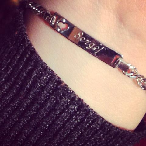 Mein Armband   (Beziehung, Freundin, Geschenk)