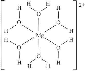 mg h2o 6 2 elektronenkinfiguration chemie elektronen komplexe. Black Bedroom Furniture Sets. Home Design Ideas