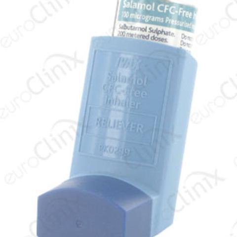 Das ist das Asthma Spray - (Angst, Atemnot, gaehnen)