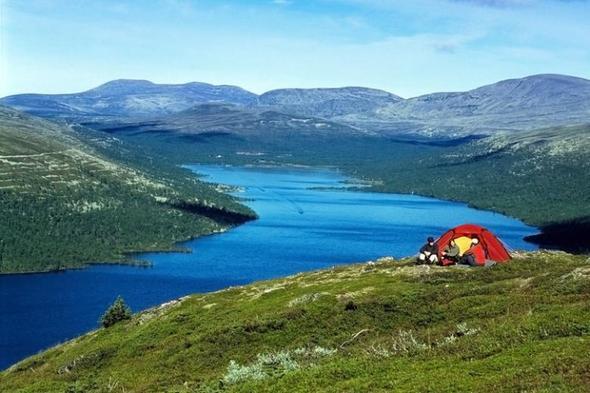 schweden - (Urlaub, Camping, See)