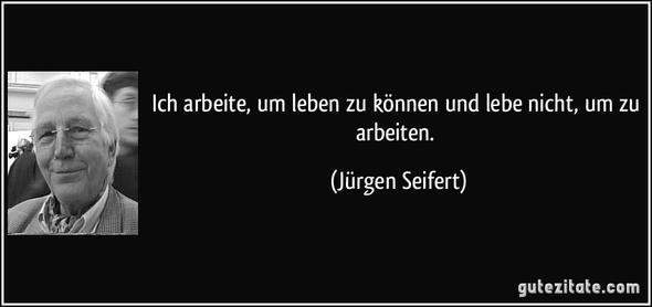 Jürgen Seifert - (Arbeit, Leben, Zitat)