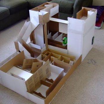 spielzeug f r hamster selber machen selber basteln. Black Bedroom Furniture Sets. Home Design Ideas