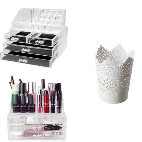 schminke aufbewahren und was habt ihr an schminke. Black Bedroom Furniture Sets. Home Design Ideas