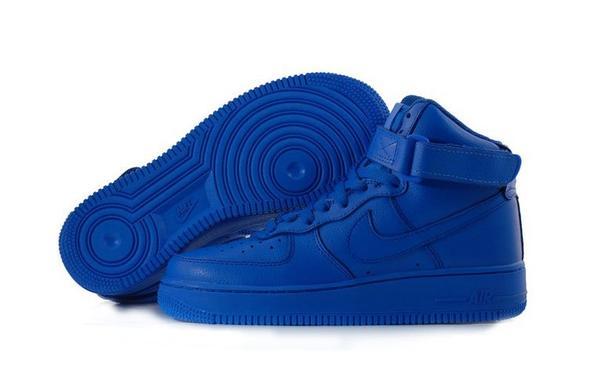 Nike Air Force 1 Classic High blue  - (Schuhe)
