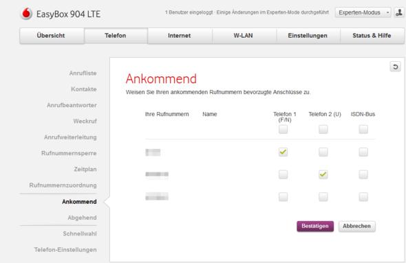 Bild - (Vodafone, Festnetz, Easybox)