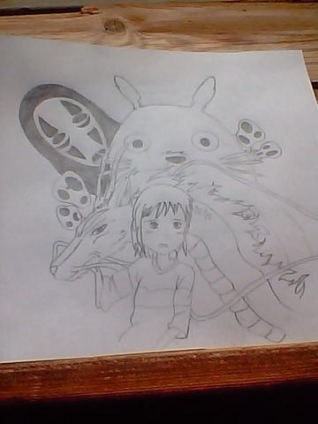 Kann Jemand Von Euch Die Figuren Von Hayao Miyazaki Gut Zeichnen