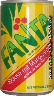 Fanta Mango Dose 1987 - (trinken, Fanta, Limonade)
