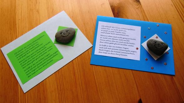 Karten - (Geschenk, basteln, Kindergarten)