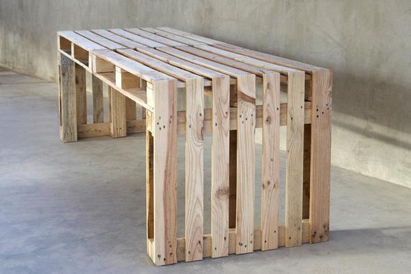 ich m chte einen gartentisch aus paletten bauen der tisch. Black Bedroom Furniture Sets. Home Design Ideas