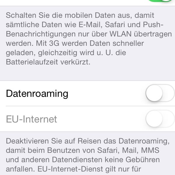 Hohe Handyrechnung durch Datenroaming! Was tun? (Ausland