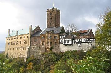 Die Wartburg zählt zu den beliebtesten Sehenswürdigkeiten in Thüringen - (Reise, Sehenswürdigkeiten, Thüringen)