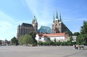 Erfurt, das attraktivste Städtereiseziel in Thüringen - (Reise, Sehenswürdigkeiten, Thüringen)