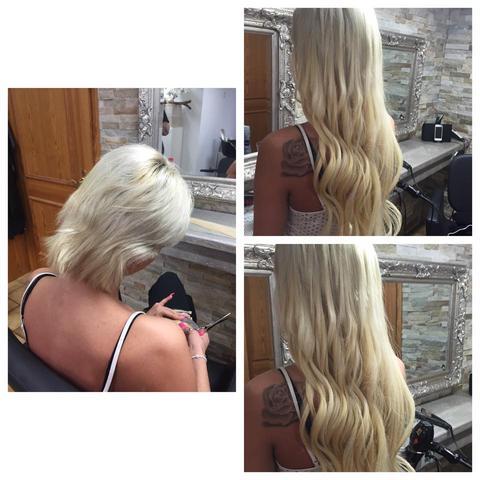 Könnt Ihr Mir Extensions Mit Bondings Empfehlen Habe Kurze Blonde